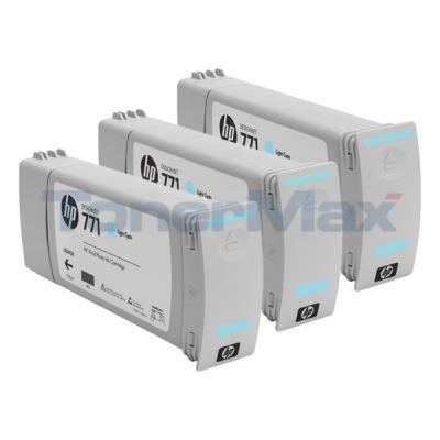 HP NO 771 DESIGNJET INK CART LIGHT CYAN
